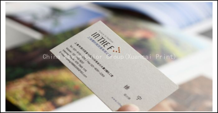 Full Colour Paper Business Card