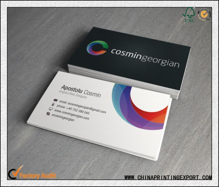 Customed Size Cards Printing China