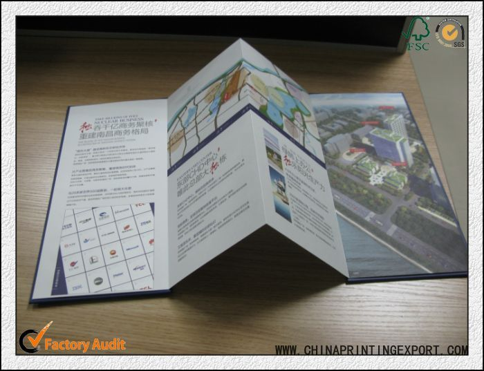 Folded Brochures Printing Service From China