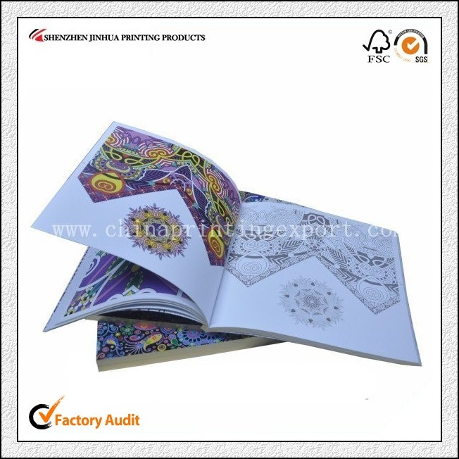 Softcover Picture Book Printing Painting Book Printing