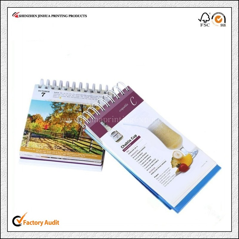 China Printing Factory Custom Spiral Bound Notebook