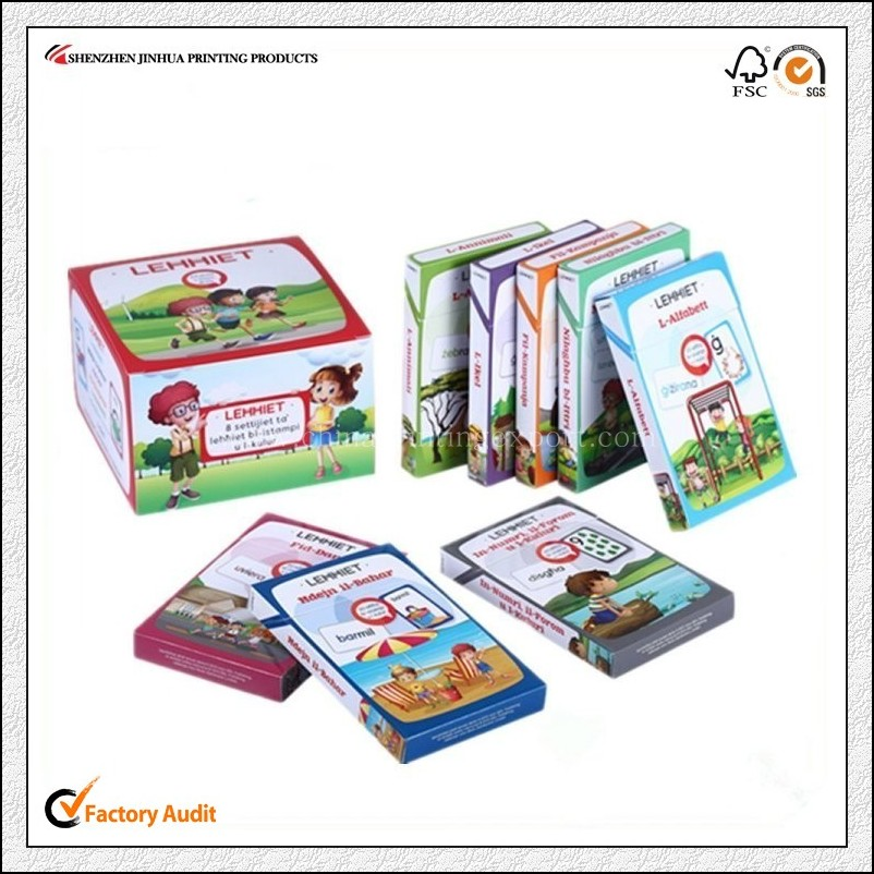 Factory Custom High Quality Children Mini Card Printing