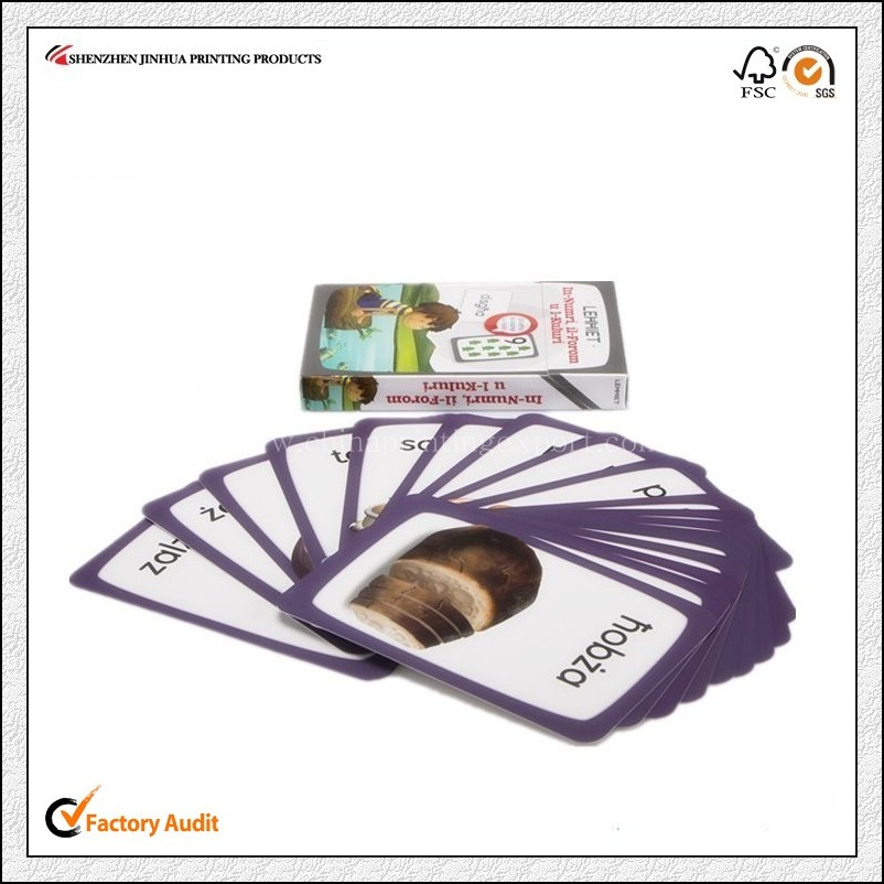 High Quality Children Mini Board Card Printing