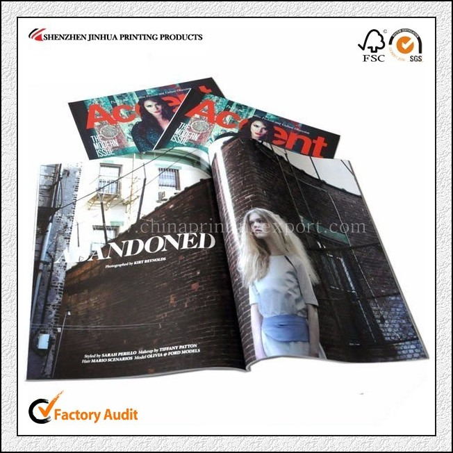 Custom Cheap Magazine Printing With High Quality