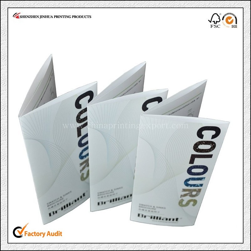 High Quality Saddle Stitch Brochure Printing In China
