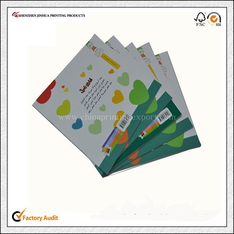 Customized Factory Price Saddle Stitch Brochure Printing