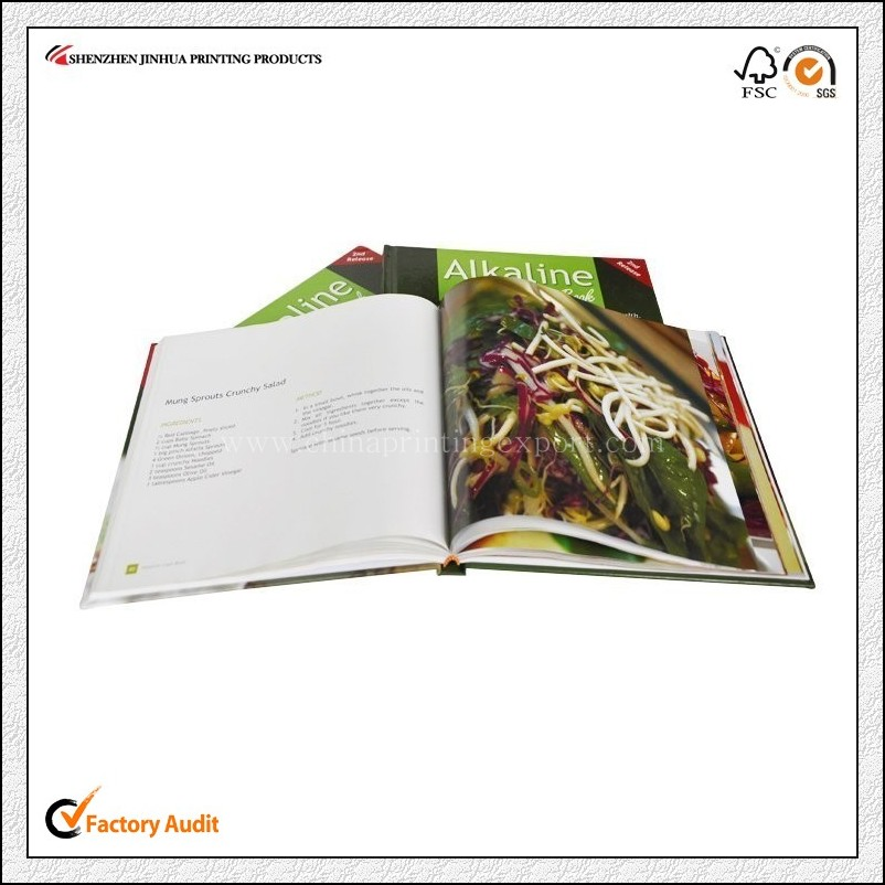 Cheap Full Color Personalized High Quality Cookbook