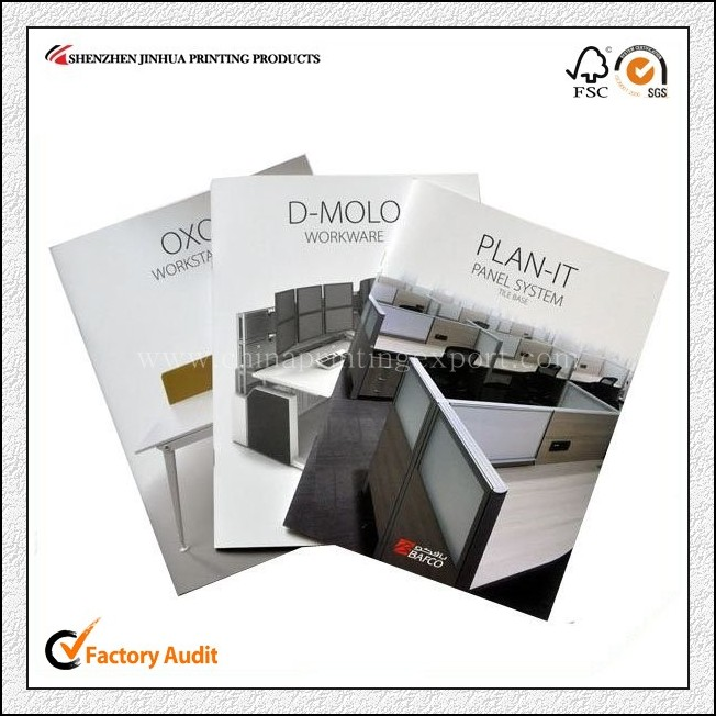 Glossy Lamination Soft Cover Magazine Printing China