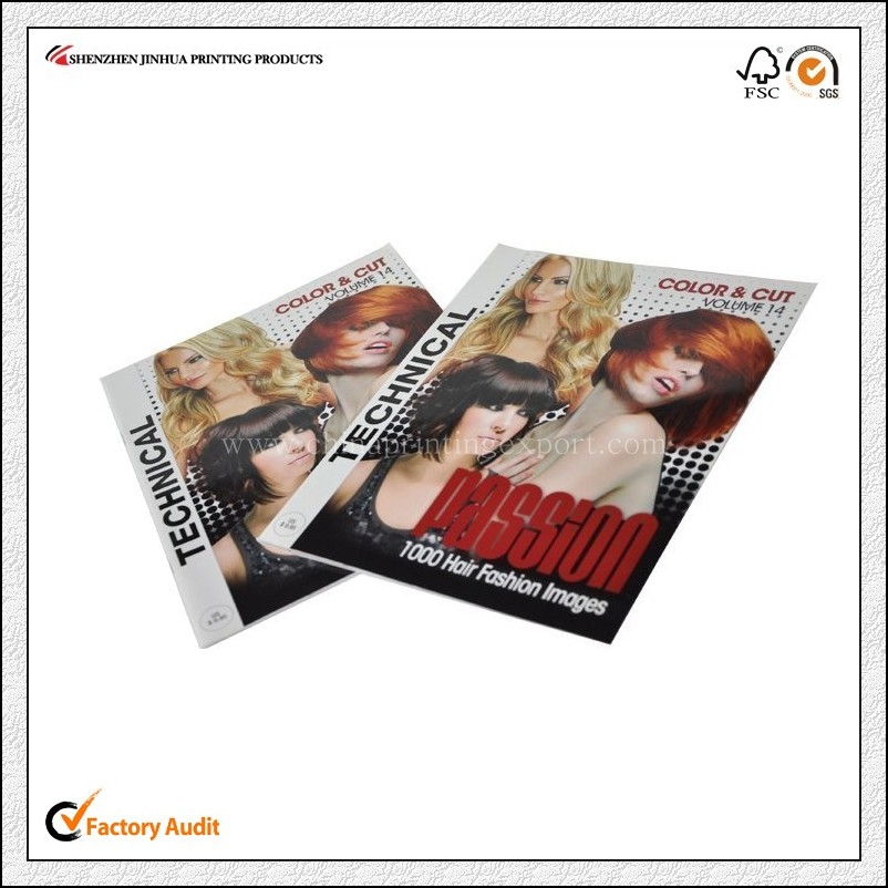 High Quality Glossy Lamination Magazine Printing China