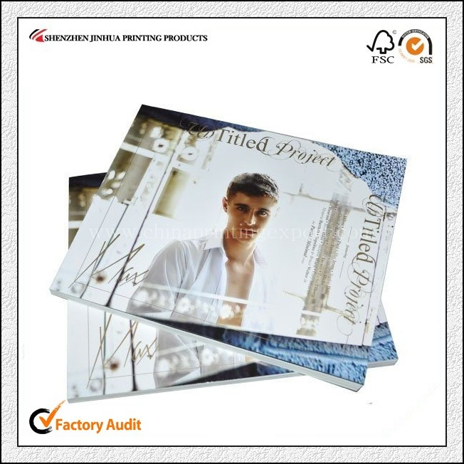Factory Printing High Quality Recycled Paper Magazine