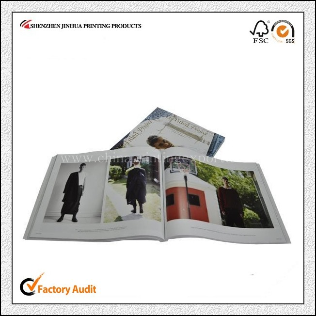 High Quality Hardcover Full Color Magazine Printing