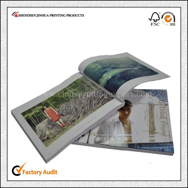 Factory Price High Quality Hardcover Magazine Printing