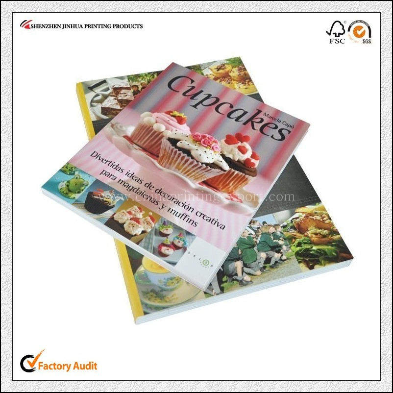 Factory Price High Quality Cook Book Printing China