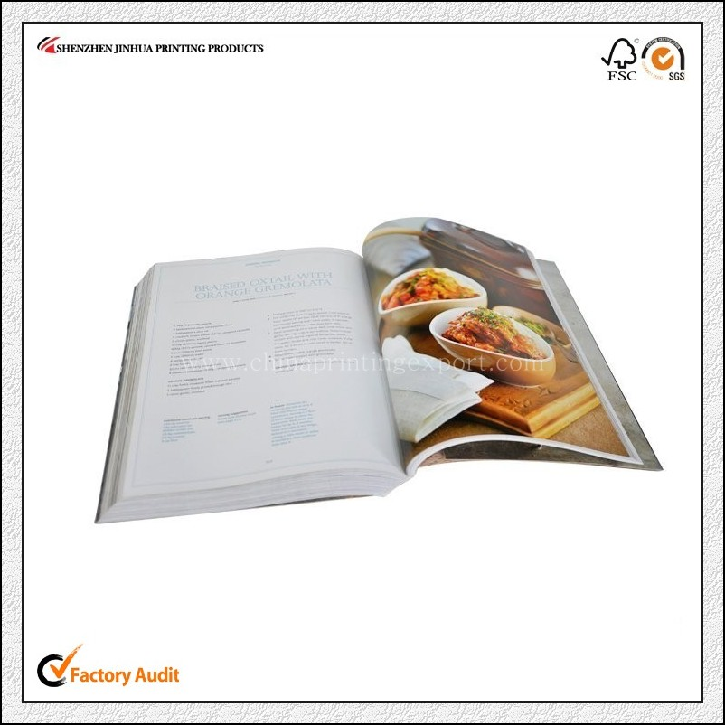 High Quality Offset Printed Cook Book Printing