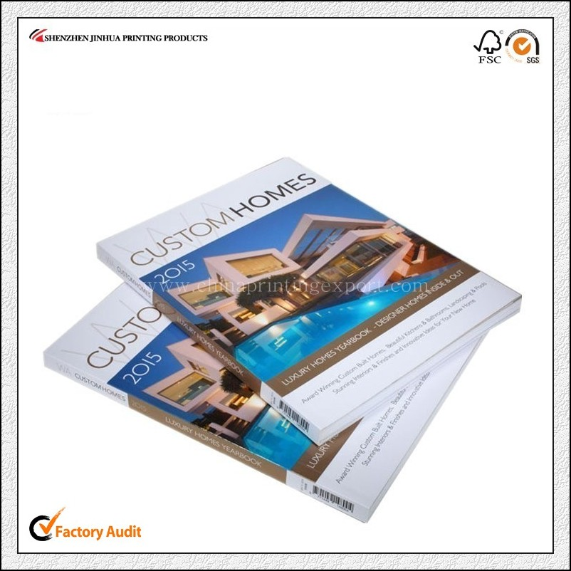 Cheap Price Perfect Binding Softcover Catalogue Printing