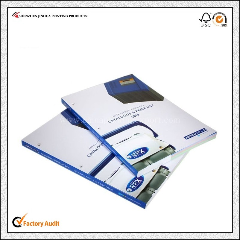 Factory Custom Perfect Binding Softcover Catalogue Printing