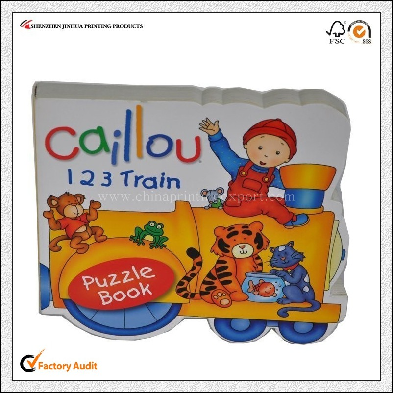 High Quality Customized Children Board Book Printing