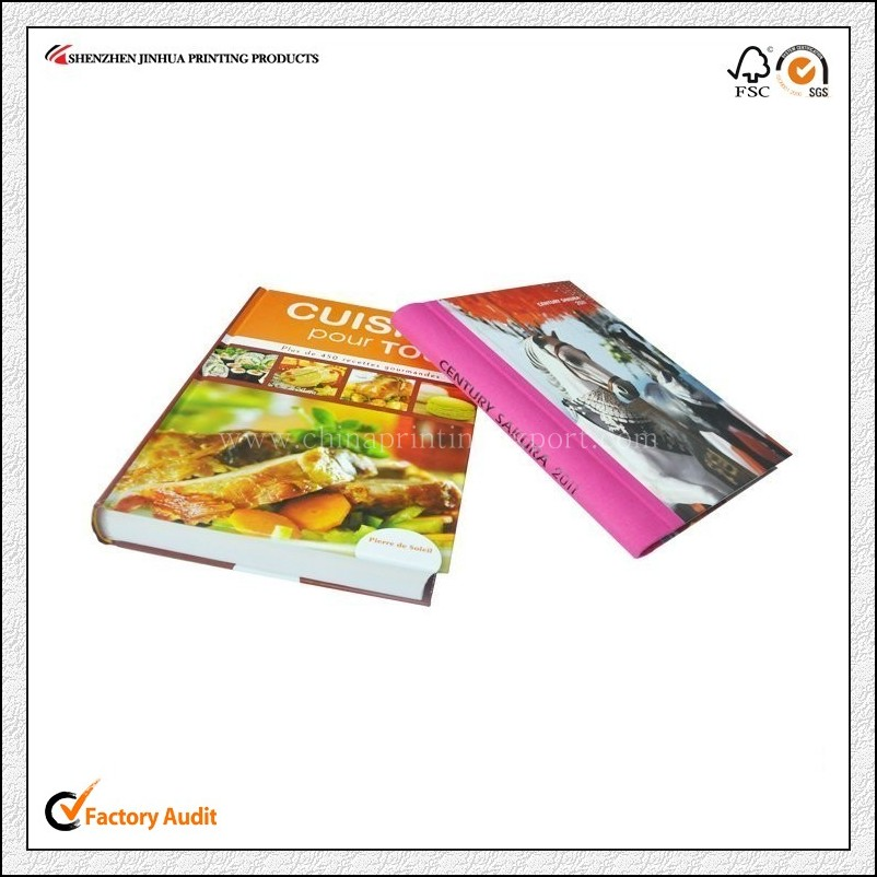 Latest Design High Quality Cook Book Printing China
