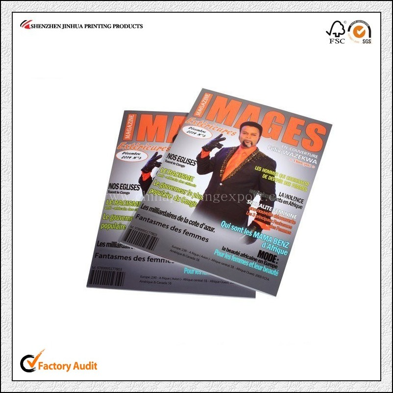 Factory Oem Printing Full Color Magazine Printing