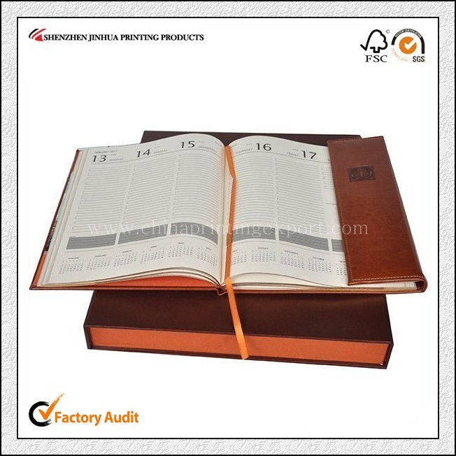 China Printing Factory Personalized Leather Notebook Printing
