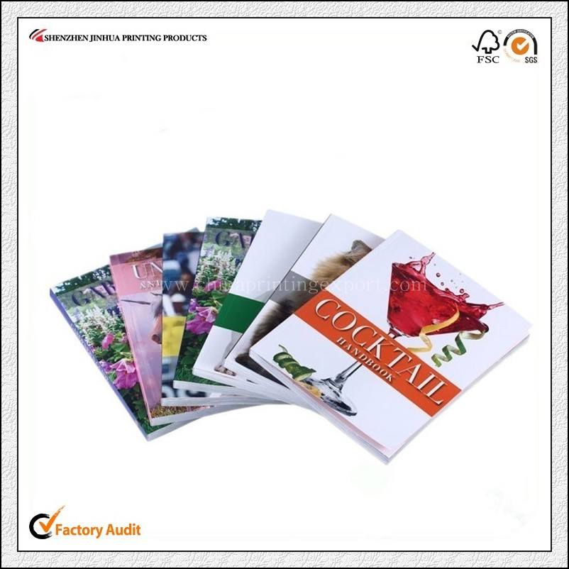 Top Quality Printing Softcover Paperback Book In China