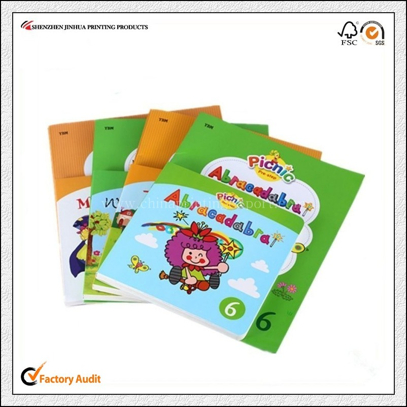 Cheap Factory Printing High Quality School Exercise Book