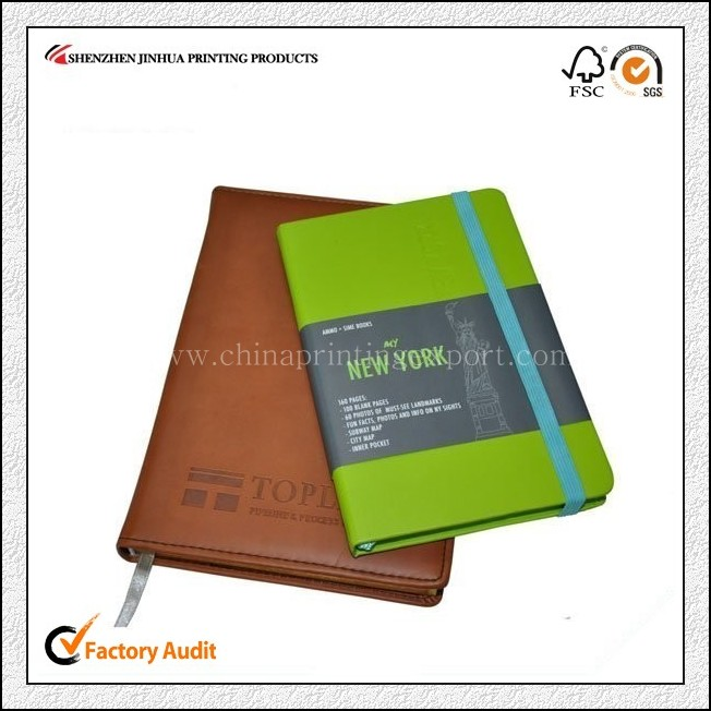 Factory Custom Personalized Leather Cover Notebook