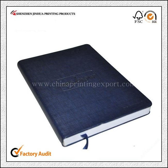 China Printing Personalized Cheap Leather Cover Notebook