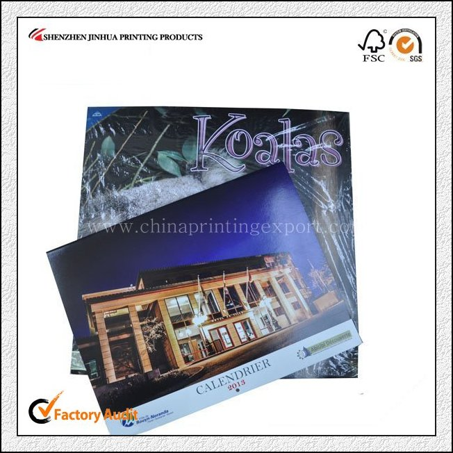Factory Custom Top Quality Calendar Printing From China