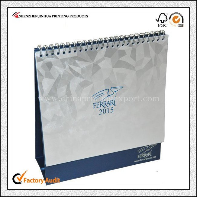 2019 China Printing Desk Calendar With Low Cost