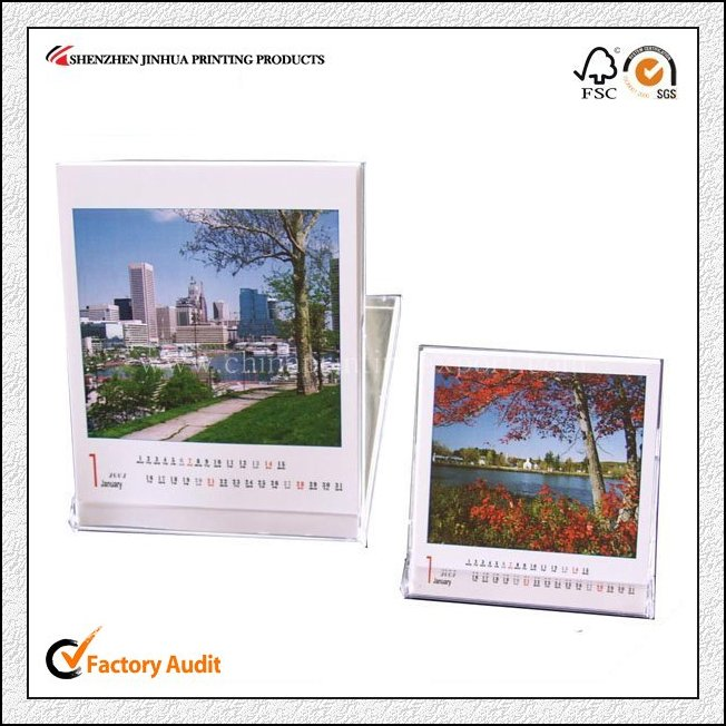 Popular Custom Table Calendars Printing In China Factory