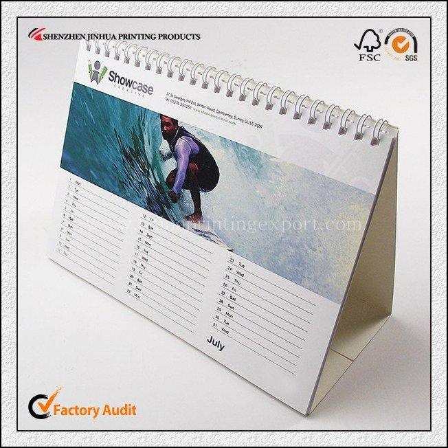 Customized Chinese Style Design Calendar Printing