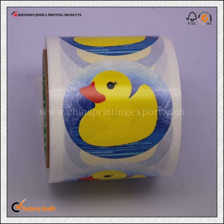 Factory Customized High Quality Sticker Printing In China