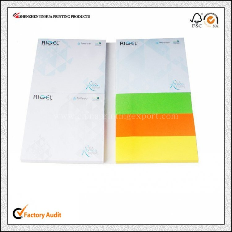 China Factory Print High Quality Notepad Low Cost