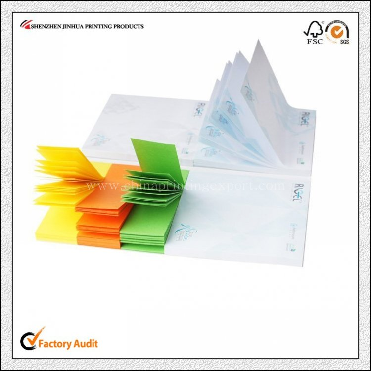 Advertising CMYK Logo Print Blank Notepad Printing