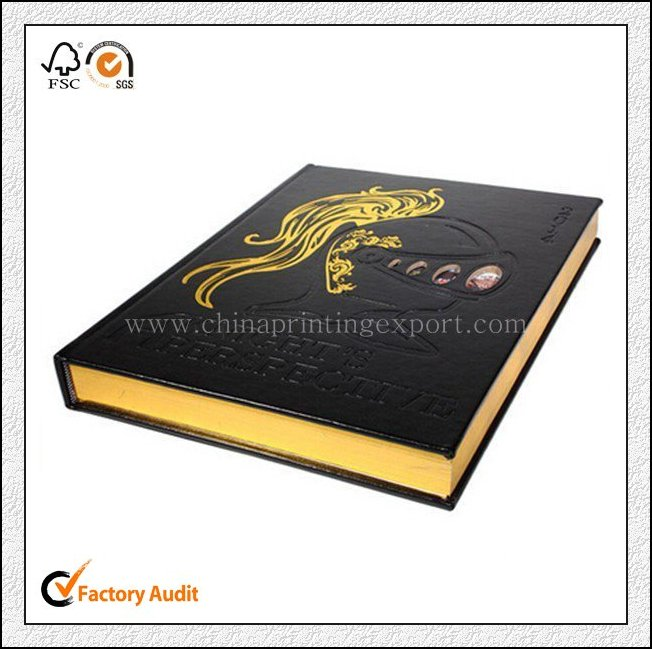 2016 New High Quality Cover Agenda Notebook