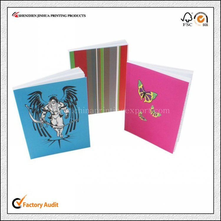 OEM Fashion Luxury Logo Design Printing Notepad