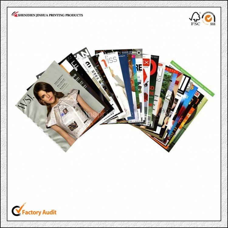 Cheap Soft Cover Full Color Pamphlet Printing Factory