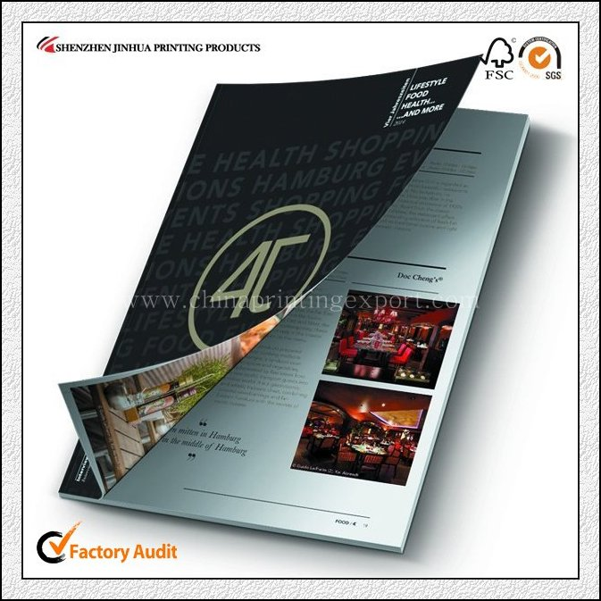 Cheap Factory Custom Pamphlet Printing High Quality