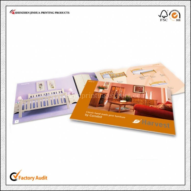 Factory Printing High Quality Offset Printed Pamphlet