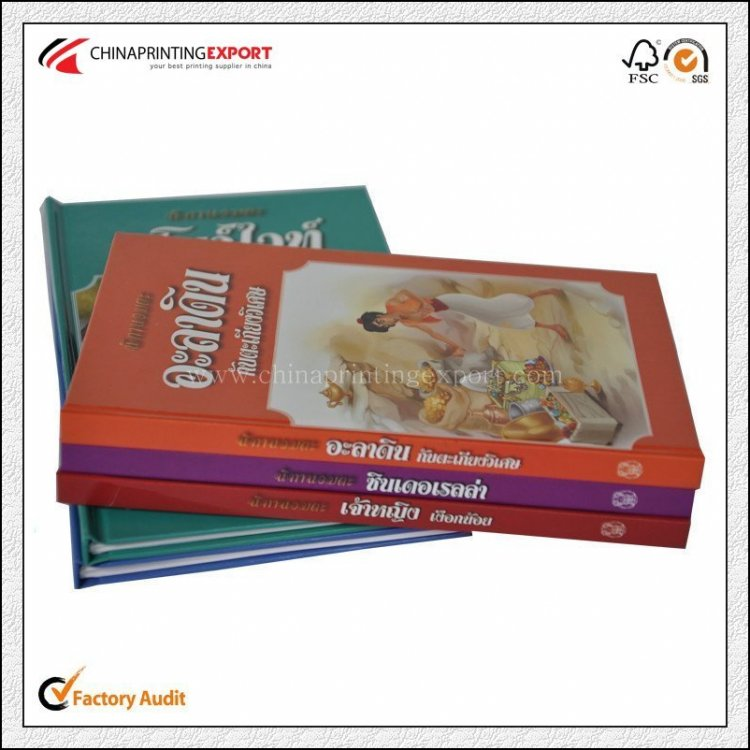 128gsm Art Paper Hardcover Book Printing With Cheap Price
