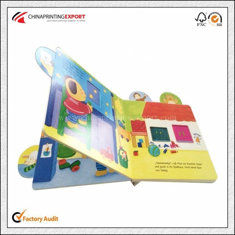 2016 Cardboard Children Book Chidren Story Card