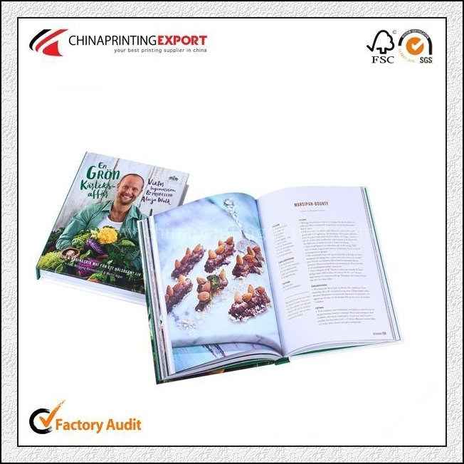 2019 Fancy Hardcover Cook Book Design And Printing