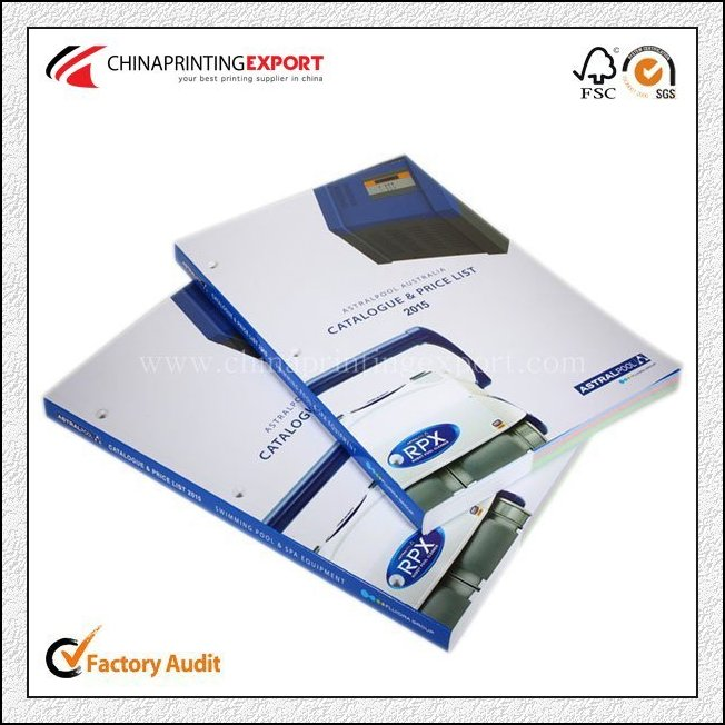 Customized A5 Company Advertising Catalogue Printing