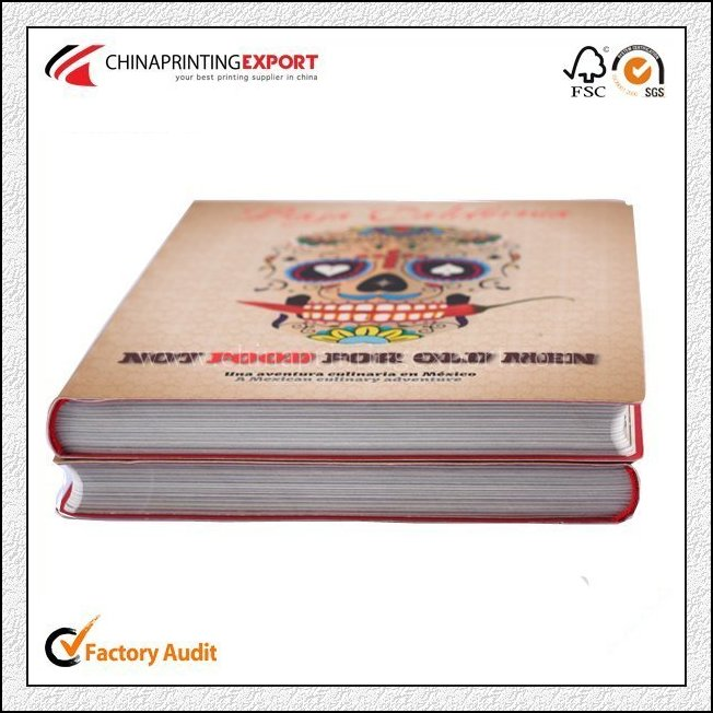 Top Quality Custom Full Color Case Bounding Cooking Book