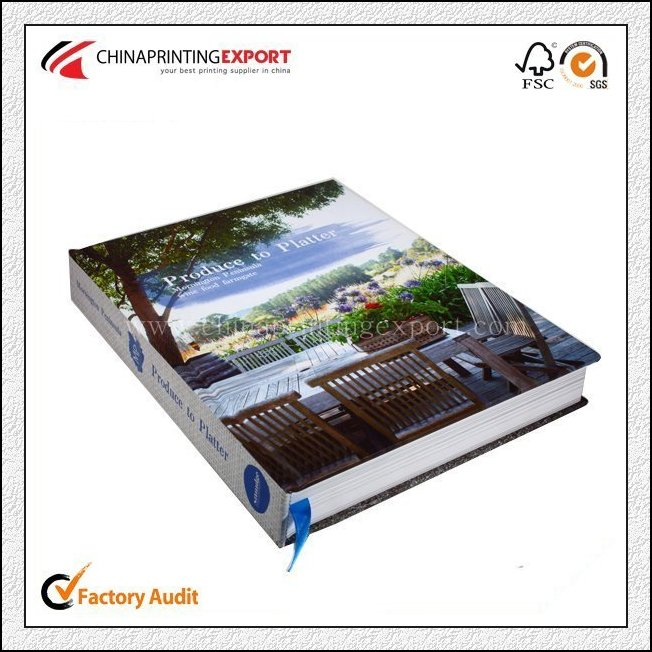 Custom Offset Hardcover Book Printing Factory With Logo