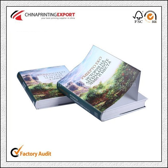 Cheap full color creative hardcover book printing china