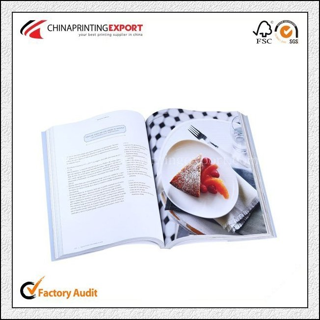 Printing Colorful High Professional Cook Book Printing