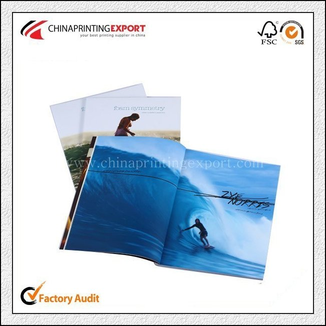 Recyclable Paper Custom Advertising Magazine Printing China