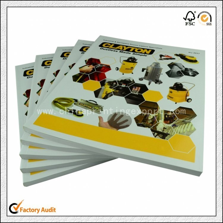 Customized Perfect Binding Catalogue Printing In China